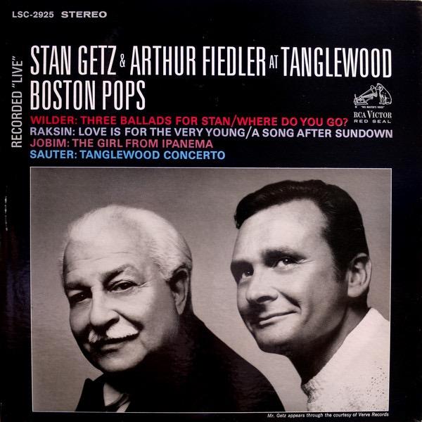 STAN GETZ_Stan Getz And Arthur Fiedler At Tanglewood
