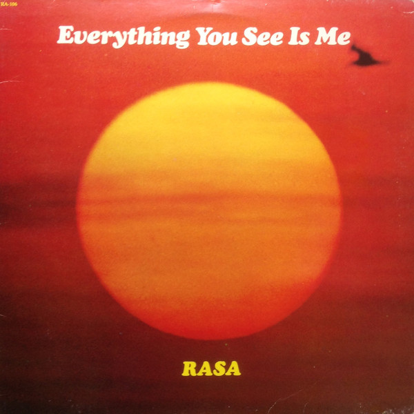 RASA_Everything You See Is Me