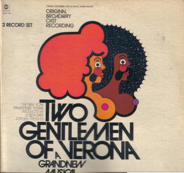 VARIOUS ARTISTS_Two Gentlemen Of Verona: A Grand New Musical