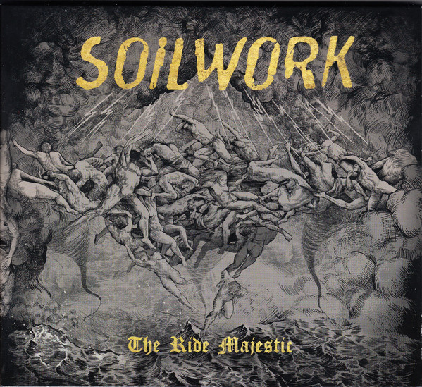 SOILWORK_2015rsd2 - The Ride Majestic _2lp Red Vinyl_