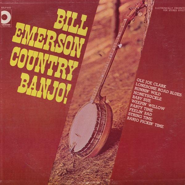 BILL EMERSON_Country Banjo!