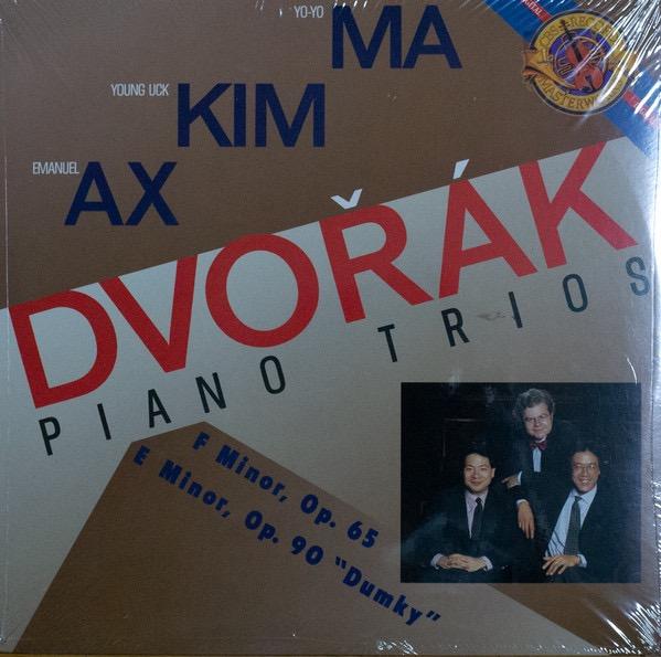 YO DVORAK_Ma Kim Ax - Dvorak - Piano Trios