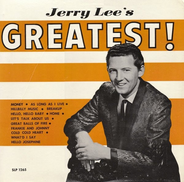JERRY LEWIS_Jerry Lees Greatest! _Indie Store Exclusive Colour_