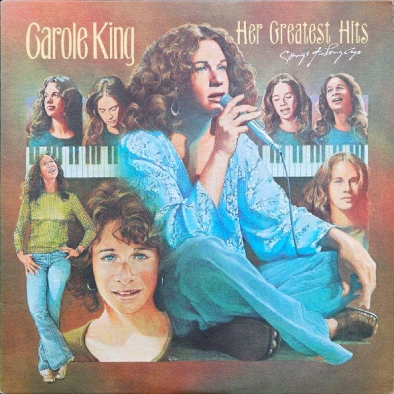 CAROLE KING_Her Greatest Hits (w/ original sleeve)