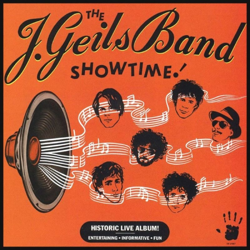 THE J. GEILS BAND_Showtime! (w/ printed inner sleeve)