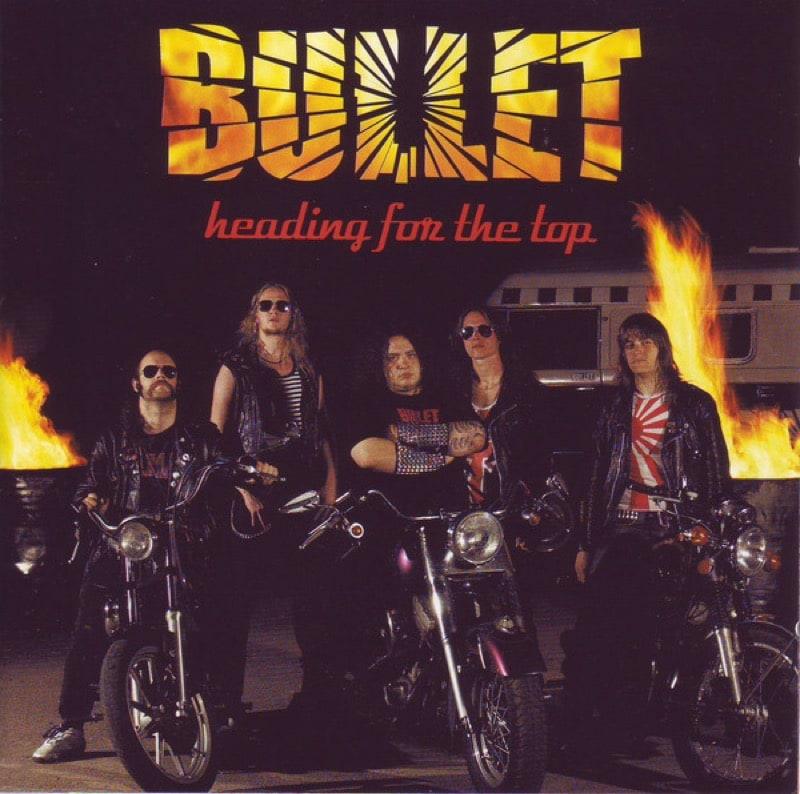 BULLET_Heading For The Top _Clear Vinyl_ - Rsd19