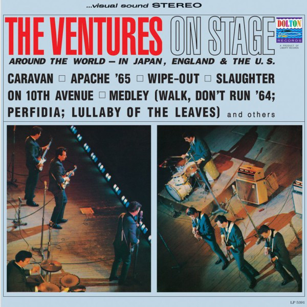 THE VENTURES_On Stage