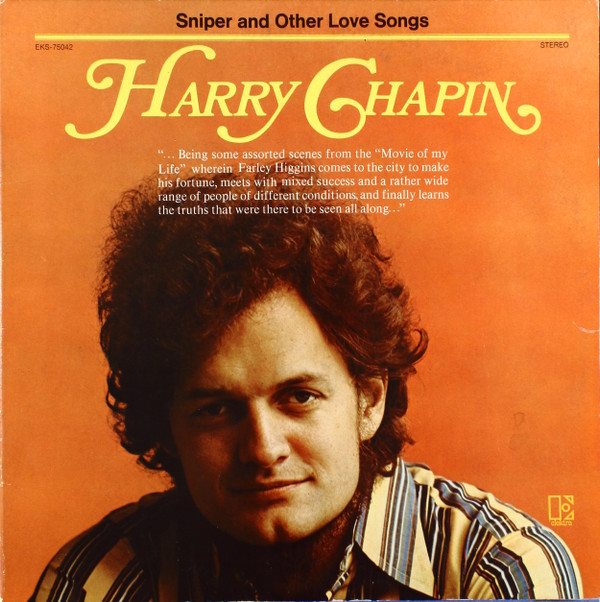 HARRY CHAPIN_Sniper And Other Live Songs