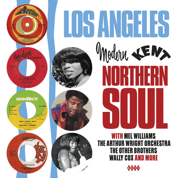 MEL WILLIAMS (WITH VARIOUS ARTISTS)_Los Angeles/Northern Soul