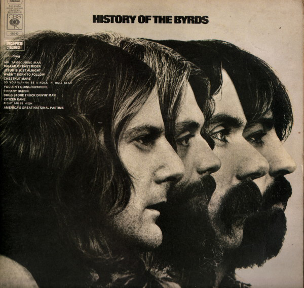 THE BYRDS_History Of The Byrds