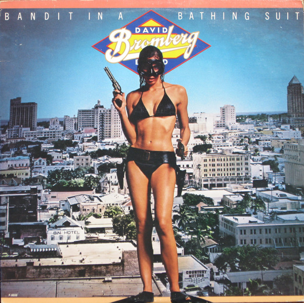 DAVID BROMBERG_Bandit In A Bathing Suit