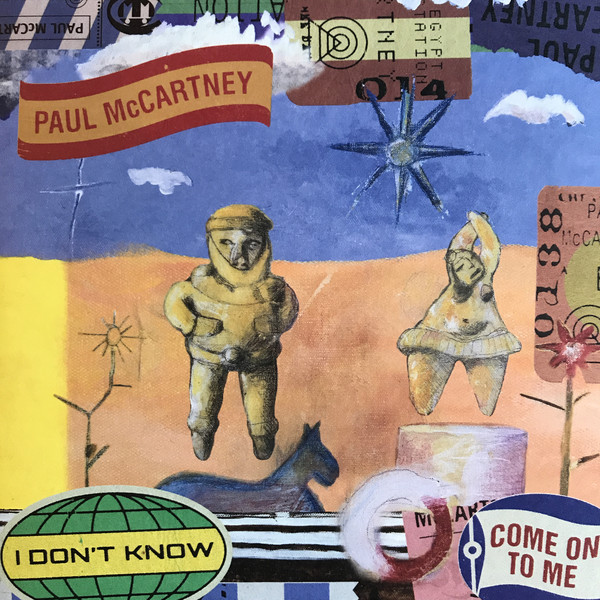 PAUL MCCARTNEY_I Don't Know / Come On To Me