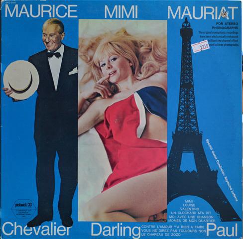MAURICE CHEVALIER_Maurice Chevalier