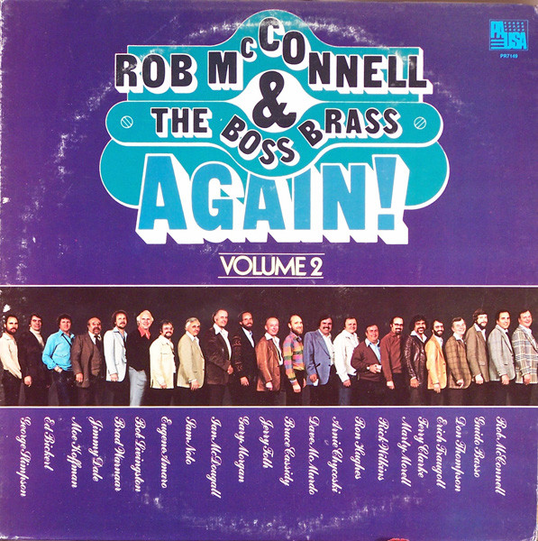 ROB MCCONNELL AND THE BOSS BRASS_Again! Volume 2