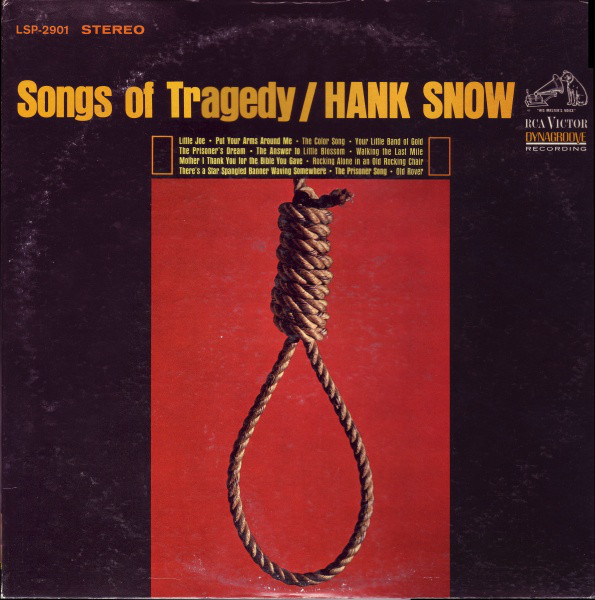 HANK SNOW_Songs Of Tragedy