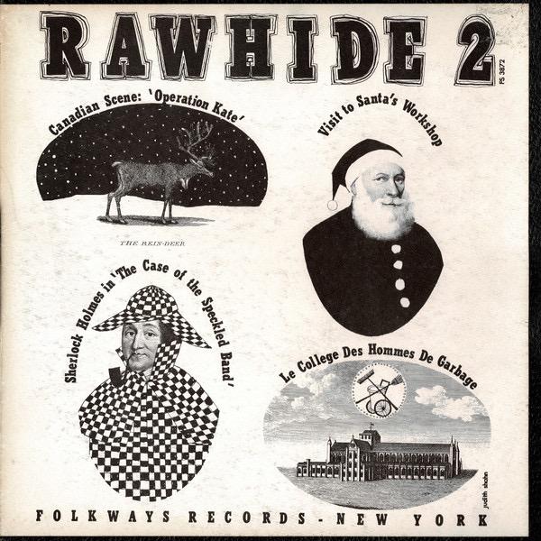 MAX FERGUSON_Rawhide 2 _1957 Radio Broadcast W/ Liner Notes_
