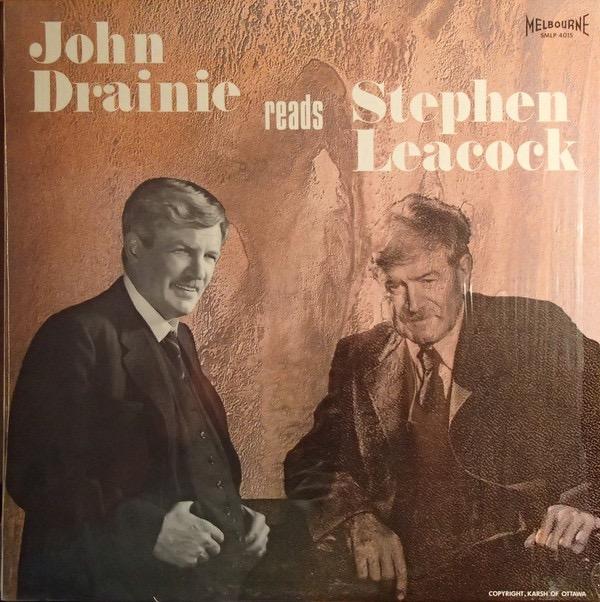 LEACOCK / DRAINIE_John Drainie Reads Stephen Leacock _W/Orig Shrink Wrap_