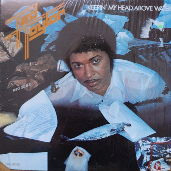TED TAYLOR_Keepin My Head Above Water _Mca Inner Sleeve_