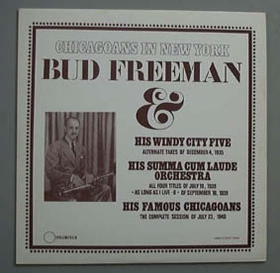 BUD FREEMAN_Chicagoans In New York