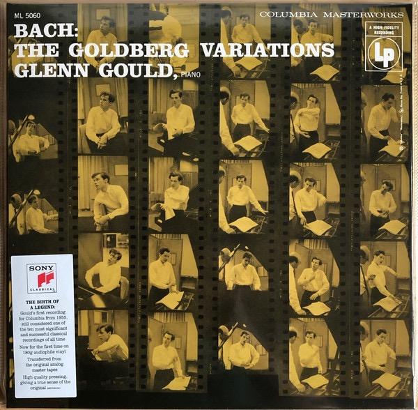 GLENN GOULD_Goldberg Variations 1955 Recording _180 Gram_