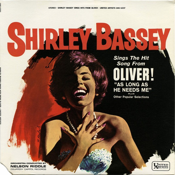 SHIRLEY BASSEY_Shirley Bassey Sings The Hit Song From Oliver Plus Other Popular Selections