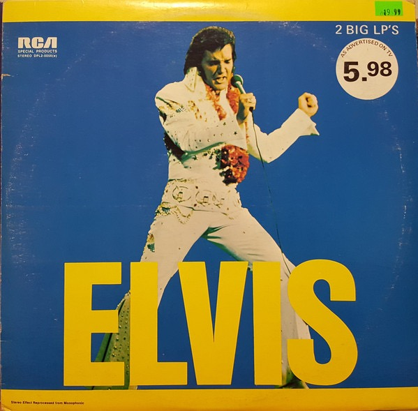 ELVIS PRESLEY_Elvis 2lp