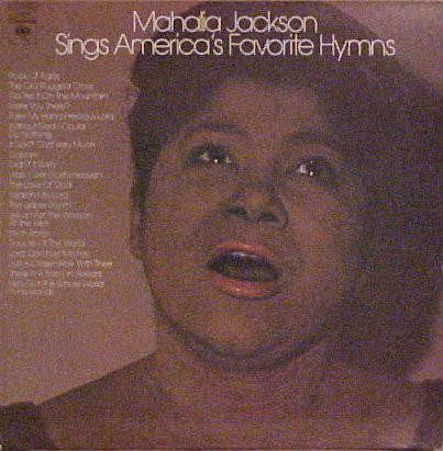 MAHALIA JACKSON_Mahalia Jackson Sings Americas Favorite Hymns _2lp W/ Original Inner_