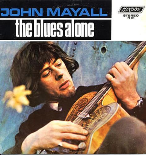 JOHN MAYALL_The Blues Alone