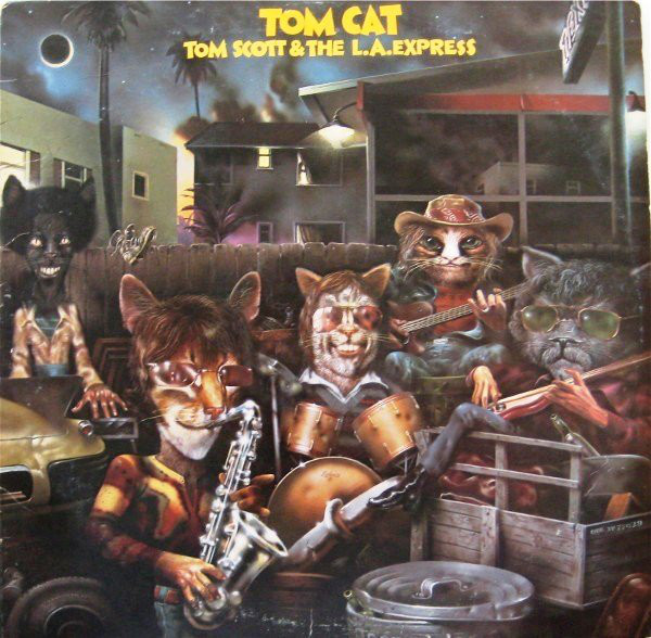 TOM SCOTT_Tom Cat