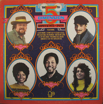 THE 5TH DIMENSION_Greatest Hits On Earth