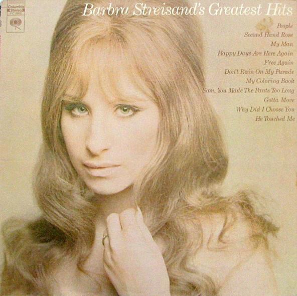 BARBRA STREISAND_Barbra Streisand's Greatest Hits